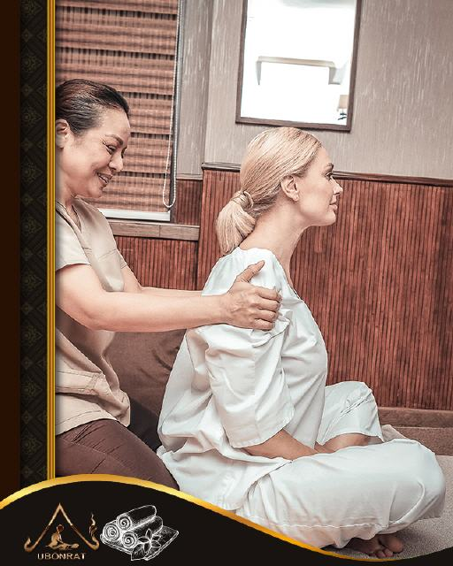 Traditionelle Thai-Massage-Behandlung